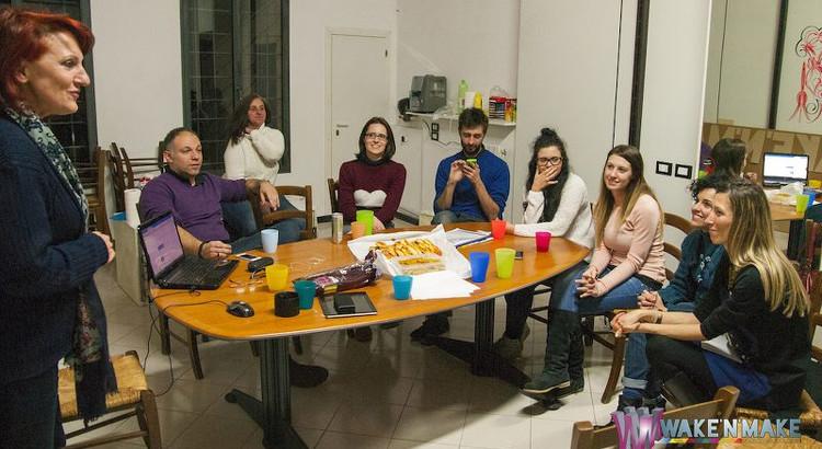 Le foto della prima serata di conversazione in inglese