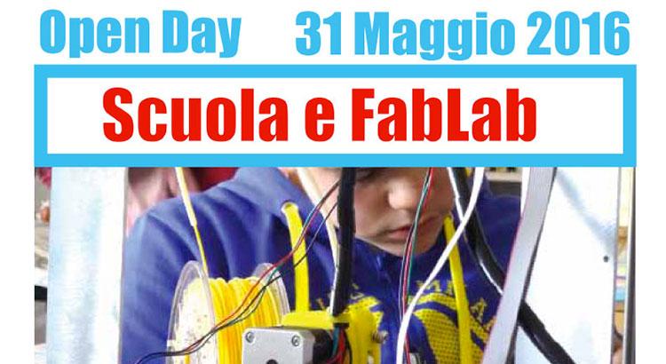 Open Day 31 Maggio Scuola e FabLab