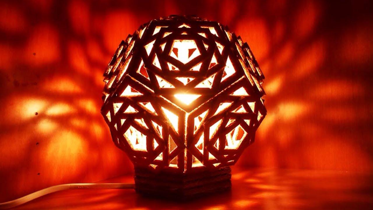 Costruiamo una lampada con la laser cutter