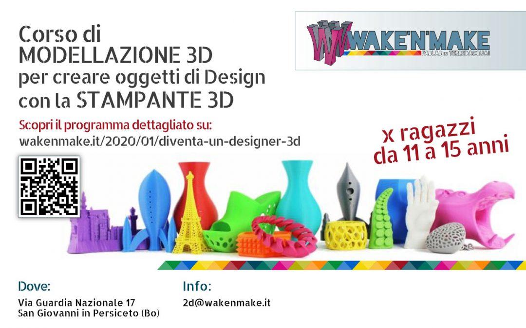 Diventa un designer 3D